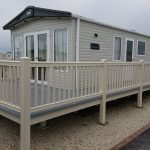 Cream Handrails Grey Deck Boards